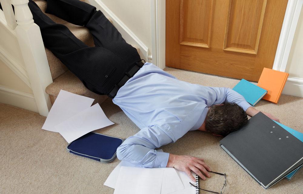 Preventing falls at home checklist