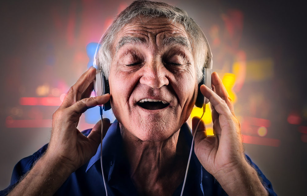 Patients' with dementia treated with music programme